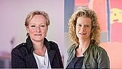 Kim van Kollenburg en Anja Korsten