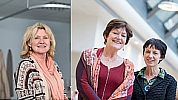 Leonore Nicolaï, Liesbeth van der Jagt en Anke ter Brugge