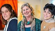 Brenda Roubos, Anne Marie Schneider-Broere en Mirta Marin