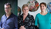 Tom van den Boom, Ellen Koelemij en Esther Hoornweg