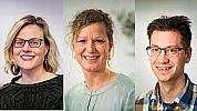 Doroth� Ernste, Christel Hessels en Pieter Dingemanse