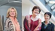 Leonore Nicola�, Liesbeth van der Jagt en Anke ter Brugge